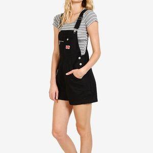 Vintage black overalls